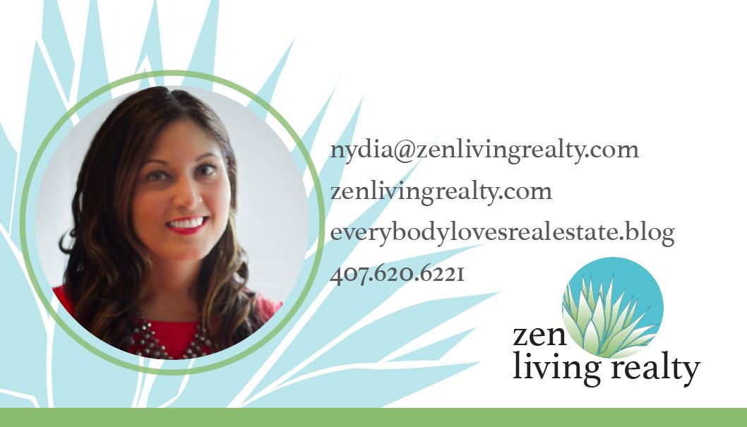 Zen Realty B.Card. Final Back Photo Print